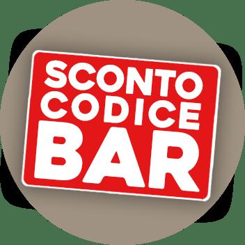 Sconto Codice Bar
